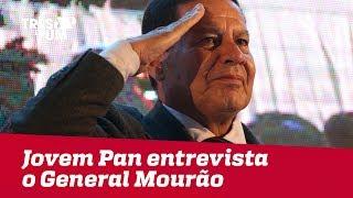 Jovem Pan entrevista o General Hamilton Mourão