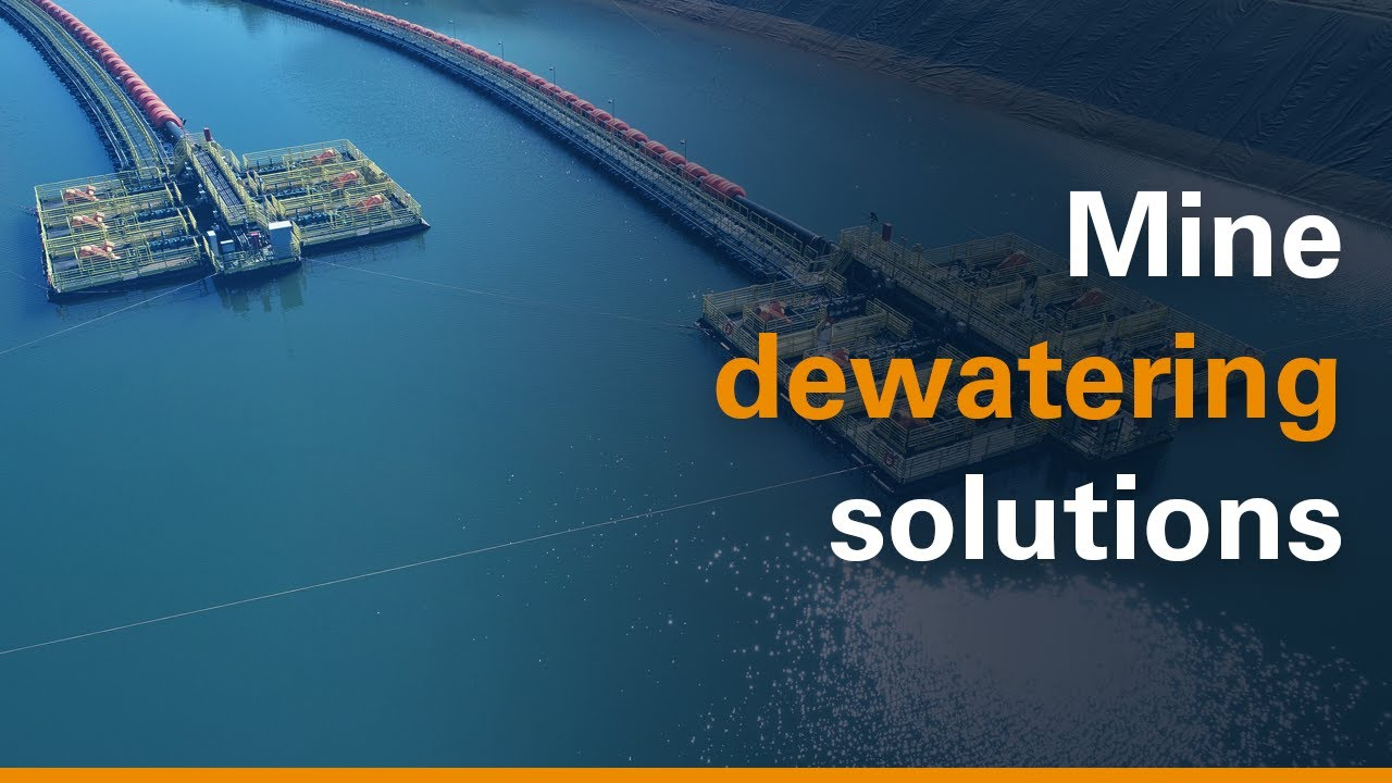 Mine Dewatering Solutions Youtube