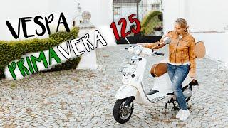 Meine Vespa Primavera 125  mit dem Ledersattel aus der Luxury Line | Review Vespa with luxury saddle