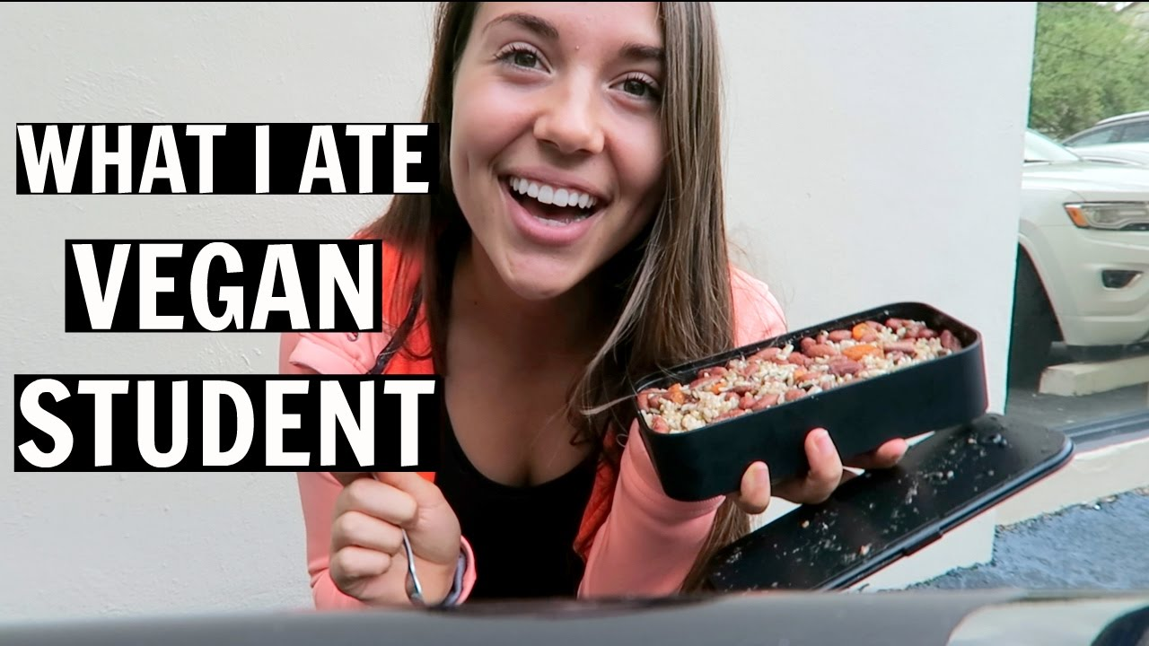 What I Eat In a School Day - Quick & Easy Meals (VEGAN)