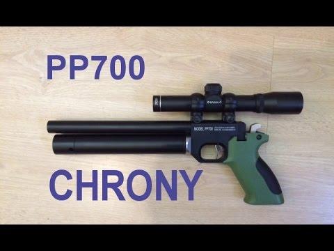 SPA PP700 CHRONY RESULTS