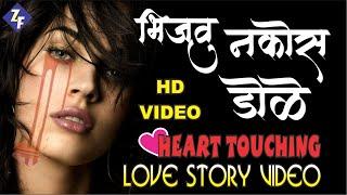 भिजवू नकोस डोळे येईन परतुनी | Marathi Sad Song | Heart Touching Love Story | Zadipatti Fans