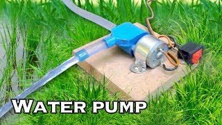How to Make Smallest Water Pump - Science Project thumbnail