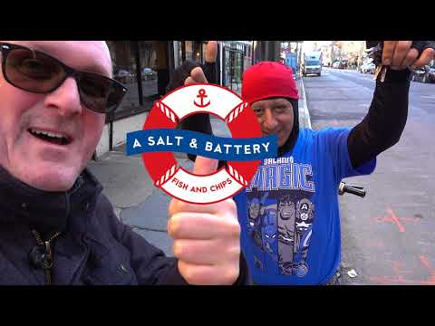 Englishman In New York Part 2 (Best Fish & Chips In NYC, A Salt & Battery)