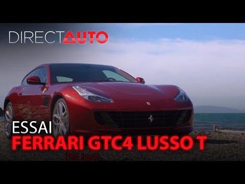 ESSAI - FERRARI GTC4 LUSSO T
