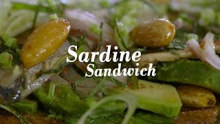 How to Make Gabrielle Hamilton's Sardine Sandwich