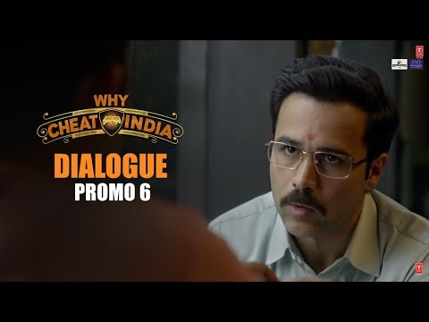 WHY CHEAT INDIA Dialogue Promo 6: Yeh Engineering Ho Gaya Toh Bhagwan Ka Bul Gaye| Emraan H,Shreya D