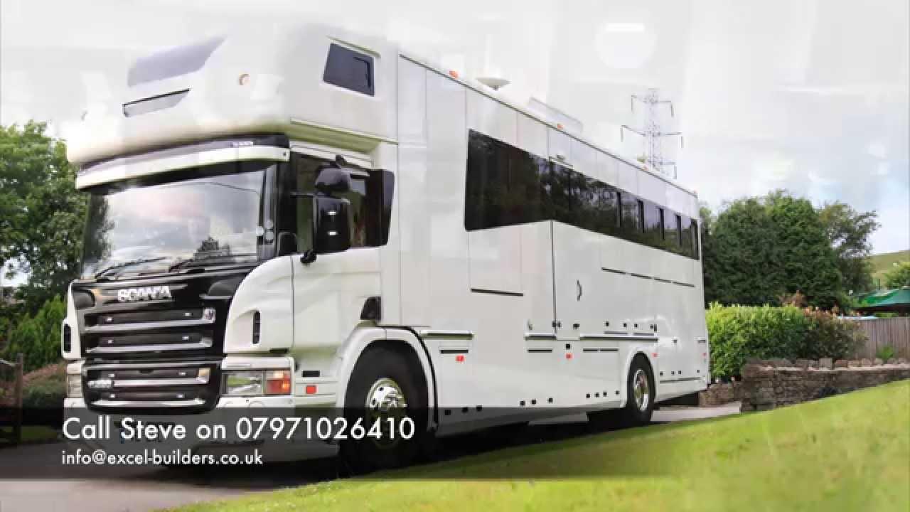 Scania 5 Stall Horsebox For Sale Doovi