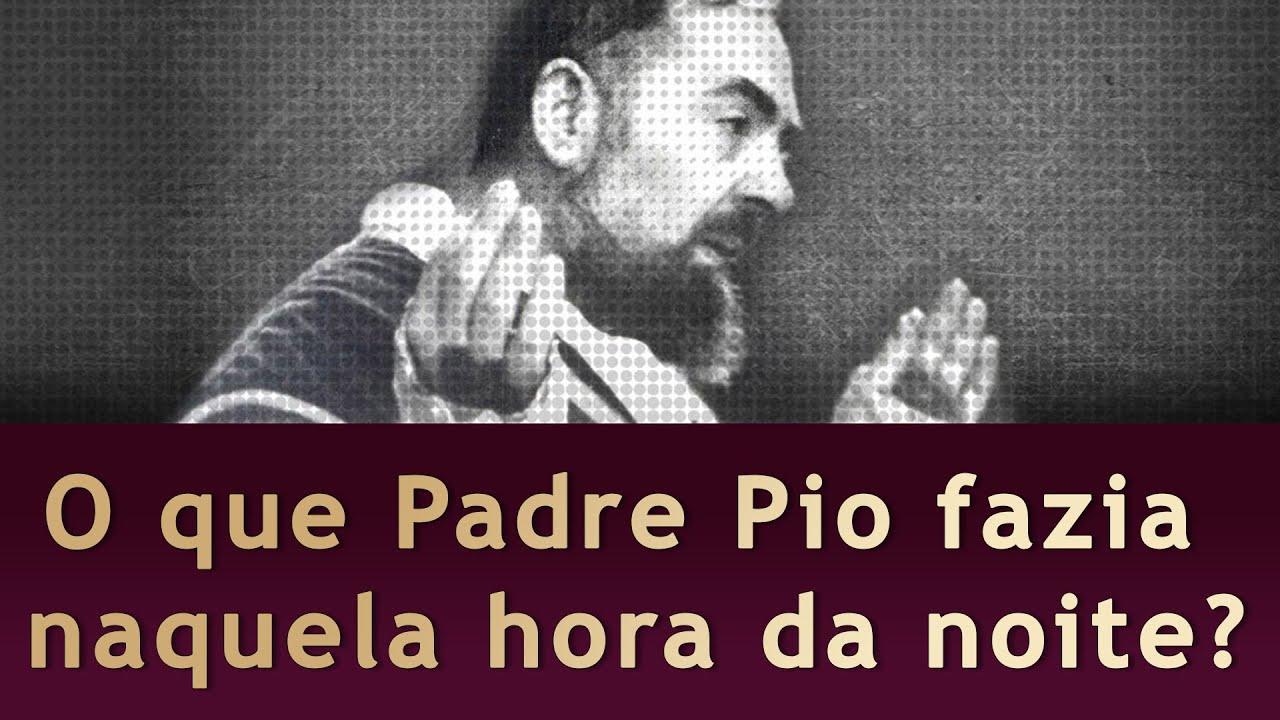 O Superior pega o Padre Pio em Flagrante