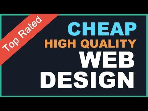 Cheap Web Design, bespoke Web Design by a professional Freelance Website Designer