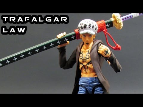 Variable Action Heroes TRAFALGAR LAW Figure Review