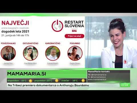 Nastop v oddaji Luke Korenčiča na Ljubljana TV