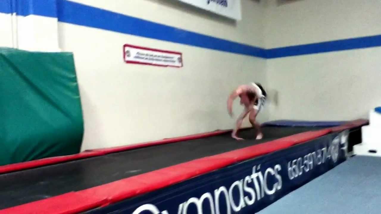 crazy tumbling gymnastics flips trampoline youtube. Black Bedroom Furniture Sets. Home Design Ideas