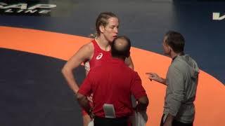 2019 Canadian Trials WW68kg Braxton Papadopoulos (Impact) Danielle Lappage (Dinos)