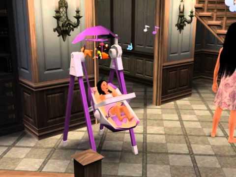 The sims 3 balan o de beb youtube for Sims 3 chambre bebe