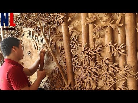 Creative Woodworking Projects with Machines and Skillful Workers at High Level