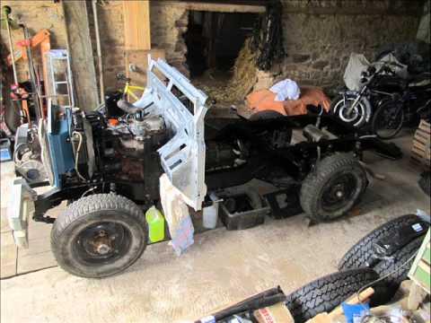 land rover series 3 full restoration youtube. Black Bedroom Furniture Sets. Home Design Ideas