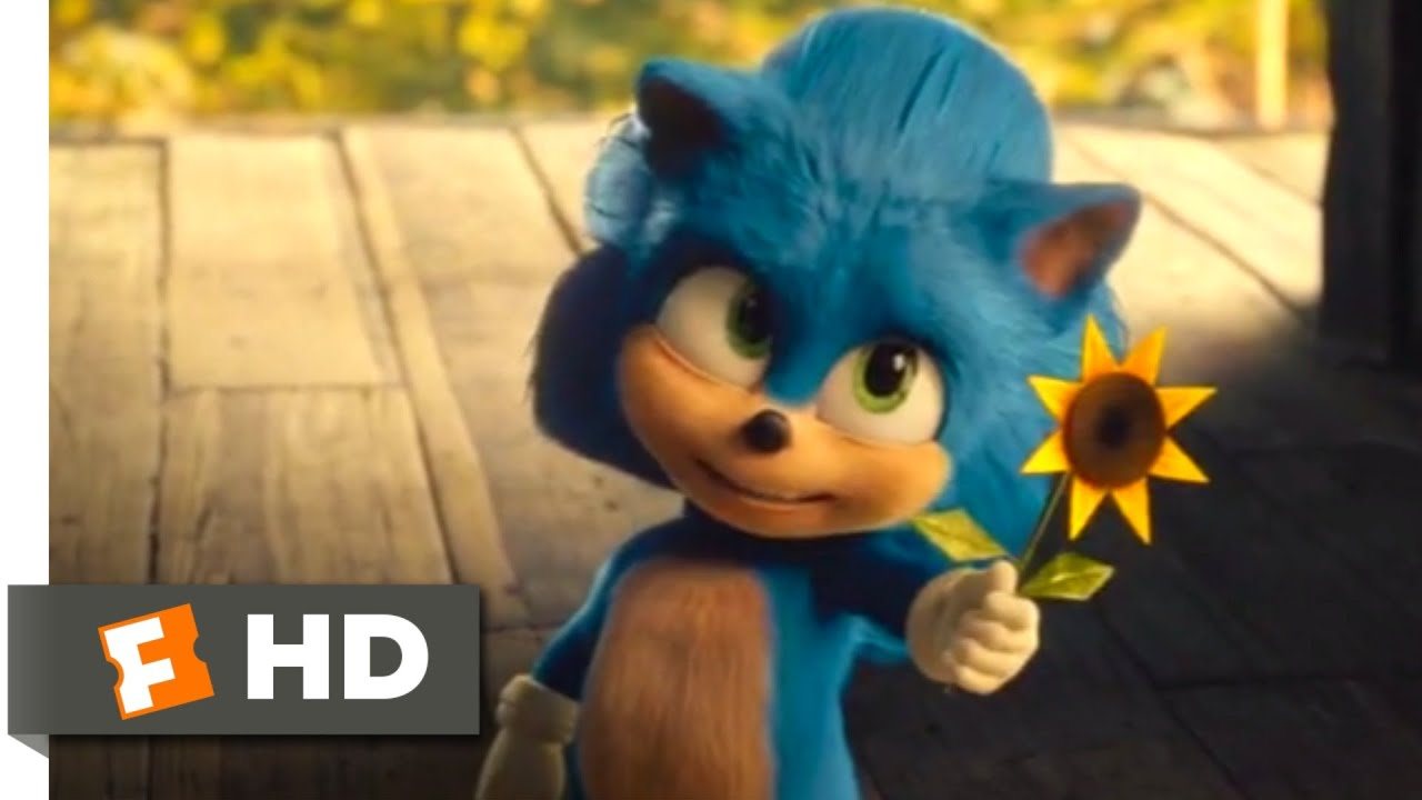 Sonic The Hedgehog 2020 Young Sonic Scene 1 10 Movieclips Youtube