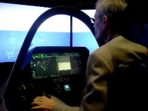F-35 flight simulator