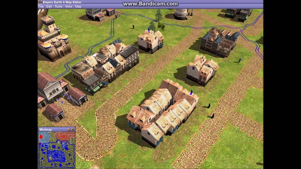 Empire Earth 2 HUGE BASE (500×500 map)   YouTube