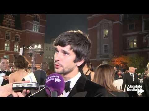 Ben Wishaw (Q) interview at Skyfall James Bond world premiere in London 23rd October 2012