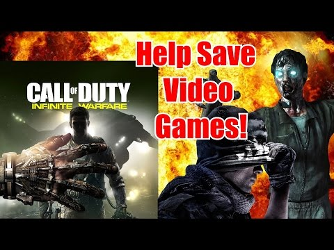 Kill Call Of Duty to save Video Games! Activision Censoring Videos! (DO NOT BUY INFINITE WARFARE!)