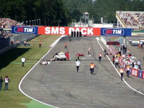 crash Dutch TT Assen 2010 supersport