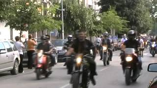 Sremska Mitrovica 05 maj 2012 - Moto susret defile