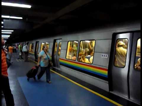 Metro de caracas videos estaciones