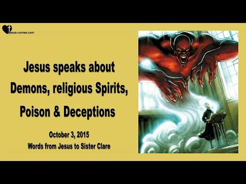 JESUS SPEAKS ABOUT DEMONS, RELIGIOUS SPIRITS, POISON & DECEPTIONS ❤️ Love Letter from Jesus