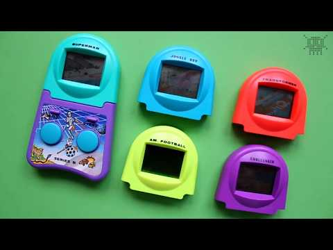 LCD-game INTER CHANGEABLE L.C.D. SPIEL / PIXELKITSCH