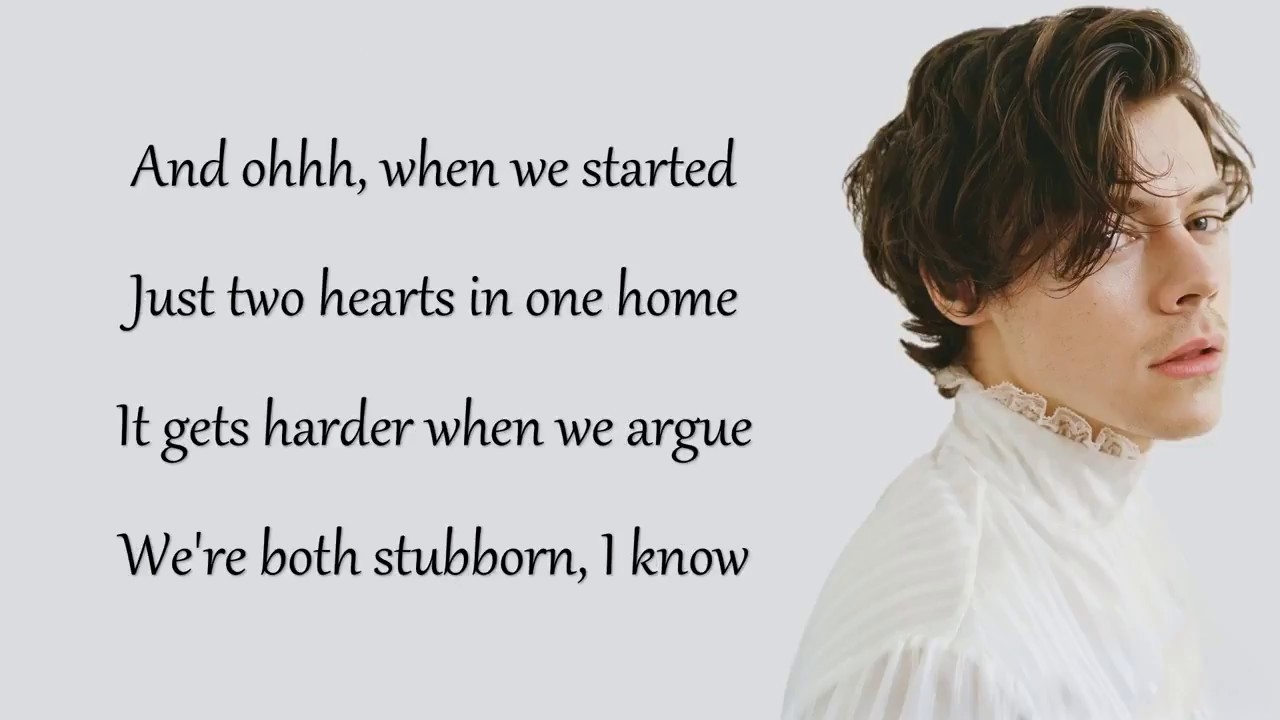 Harry Styles Sweet Creature Lyrics720p - YouTube
