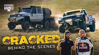 Trophy Truck vs 6x6 LC79 Landcruiser - Behind the scenes on Toby Price Cracked | A Red Bull Project