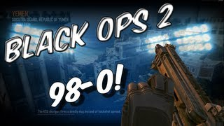 BO2: 98-0 Gameplay Commentary | Flawless Baby