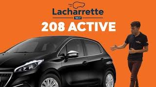 Présentation de la Peugeot 208 Active