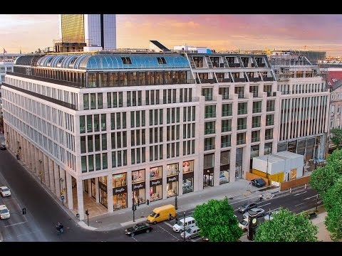 Berlin construction site time lapse - Upper Eastside Berlin
