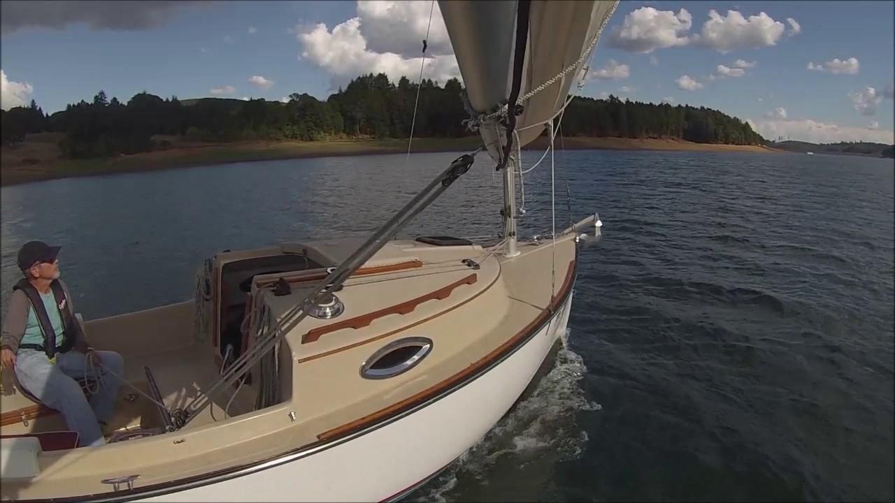 Com-Pac Sun cat 17 sailing oregon thunderstorm