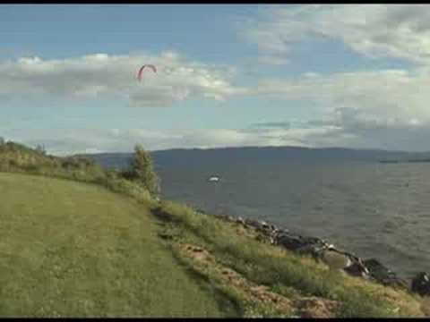 Kiting Mjosa Youtube
