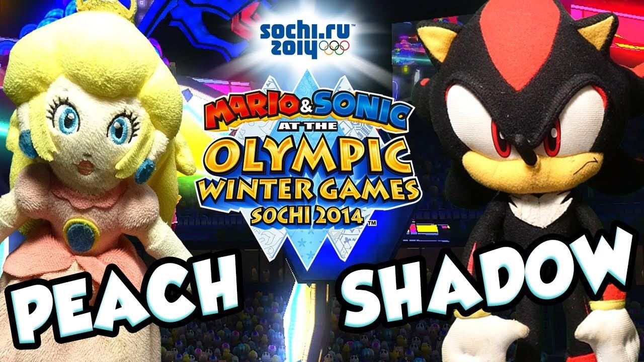 ABM: Peach Vs Shadow !! Figure Skating Spectacular!! Mario & Sonic Sochi Olympic Games!! ᴴᴰ