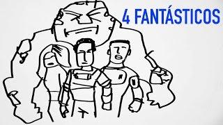 Los 4 Fantásticos | Draw my movie