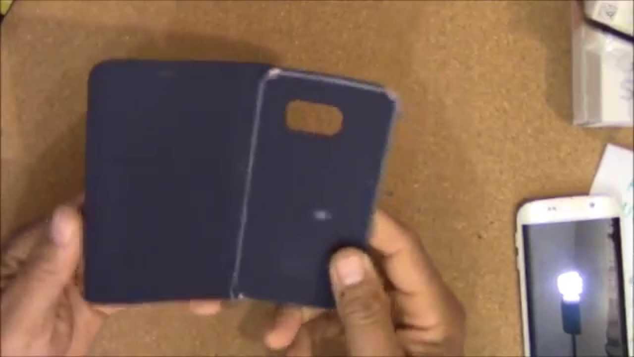 custodia flip wallet samsung galaxy s6 edge