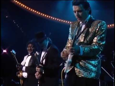Albert Collins and Stevie Ray Vaughan,1989 Presidential Inauguration Concert