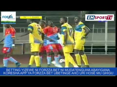 R.D Congo 2-3 Rwanda (Interanational friendly game highlight