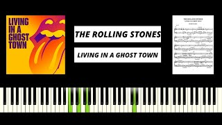 The Rolling Stones - Living In A Ghost Town (AMAZING PIANO TUTORIAL & COVER)