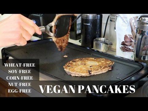 Vegan Wheat-free, Egg Free Pancakes.