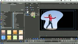 Create Cool Effects with Masking in Motion 5