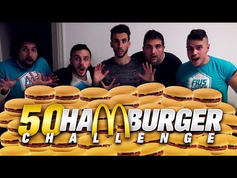 50 HAMBURGER CHALLENGE w/FIUS GAMER e TATINO23