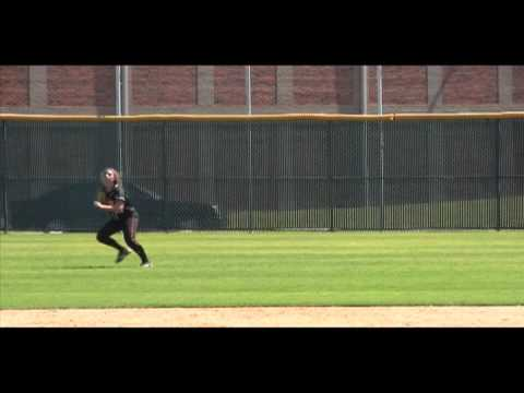 Softball Skills - Center Field - Video by Taylor Livermore