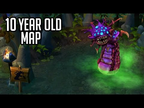 League of Legends but it&39;s a 10 year old map