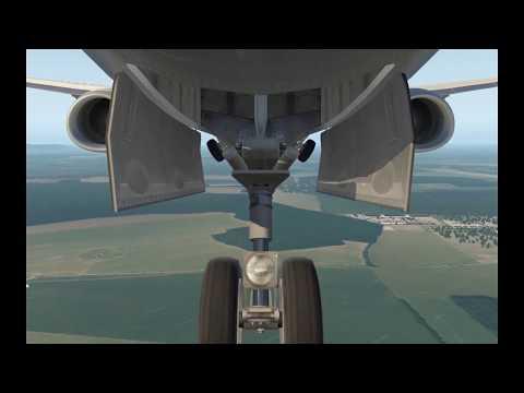 LZIB Landing - X-Plane 11